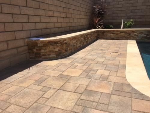 Pavers / Planter walls